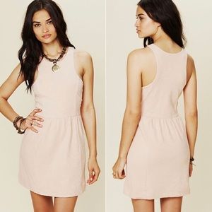 Free People Dress Shanghai Shift Textured Size XS